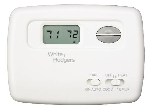 White Rodgers White Rodgers Non-Programmable Heat Pump Thermostat