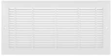 Imperial Manufacturing Plastic Sidewall Grille, 24 In.X8 In., White at Sears.com