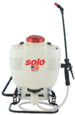 SOLO Cup Company Solo 4 Gallon Professional Backpack Piston Sprayer at Sears.com