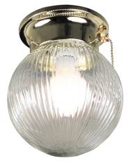 flush mount ceiling light with pull chain from. Black Bedroom Furniture Sets. Home Design Ideas