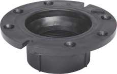 National Brand Alternative DWV ABS Closet Flange 4 In. X 3 In. 73660 at Sears.com