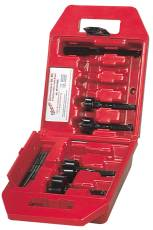 MILWAUKEE ELECTRIC TOOL Milwaukee Contractor Bit Kit, 4 Piece Hole Saw Kit With Case at Sears.com