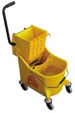 O Cedar Commercial Products Maxiplus Mop Bucket And Wringer 36 Quart Yellow at Sears.com